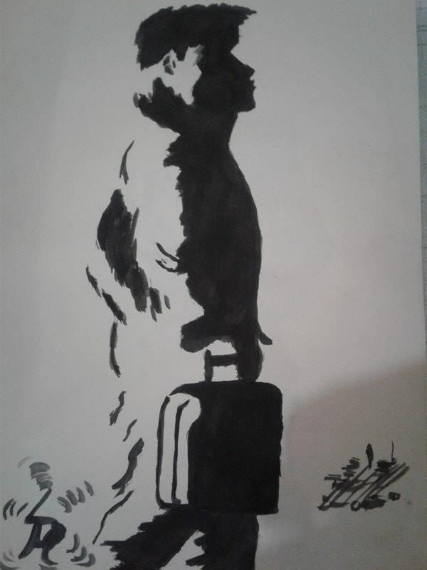 Mon dessin ( L' école )