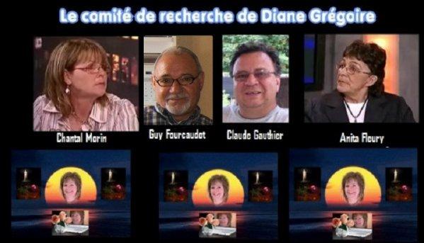 Le seul blog officiel du Comité de Recherche de Diane Grégoire depuis la disparition de Diane en janvier 2008.  Ce blog est en partenariat avec Le Blog de Diane Grégoire  dûment enregistré pour ses droits d'auteur: CopyrightDepot.com  numéro: 00048057-2  www.dianegregoire.net/blog/index.php