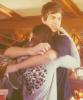"""Boo I want a hug Yes baby"""