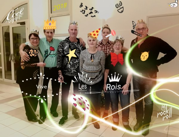 les rois et reines à Saint-Martin-sur-le-Pré