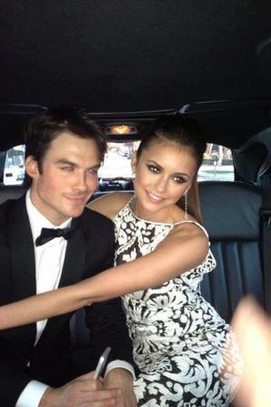 Ian & Nina <3 : Elton John Oscars Party 2013 !