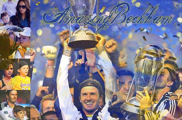 Bienvenue sur AmazingBeckham ! Un blog consacré a la famille Beckham ♥