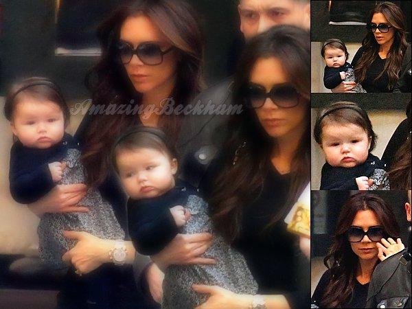 Le 13 Janvier 2012, Victoria et Harper sont sortie dans Londres. Et pendant ce temps, de leur coté, David, Cruz et Romeo sont allés manger dans un restaurant a santa Monica.