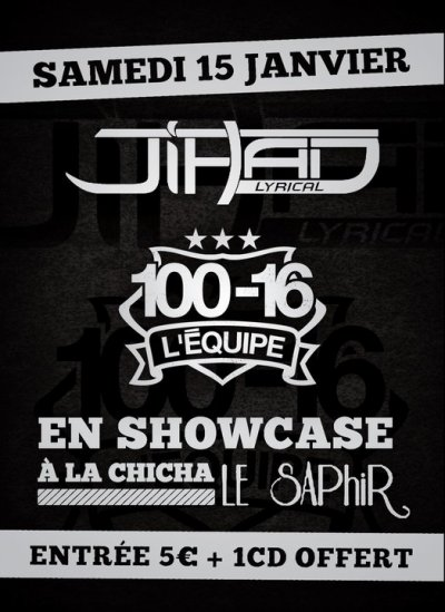 SHOWCASE A LA CHICHA LE SAPHIR