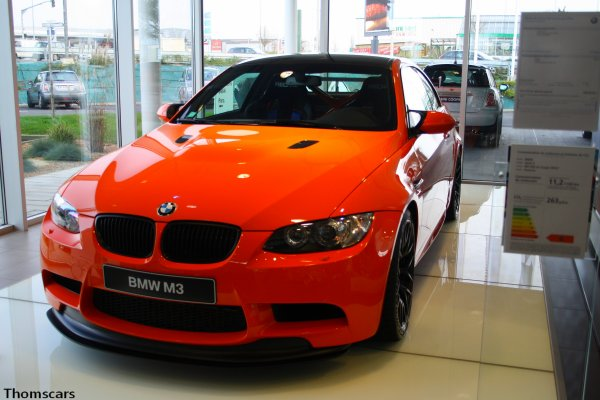 BMW M3 GTS - BMW Charrier , Cholet (49)