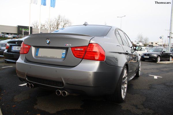 BMW M3 E90 Sedan - BMW Charrier , Cholet (49)