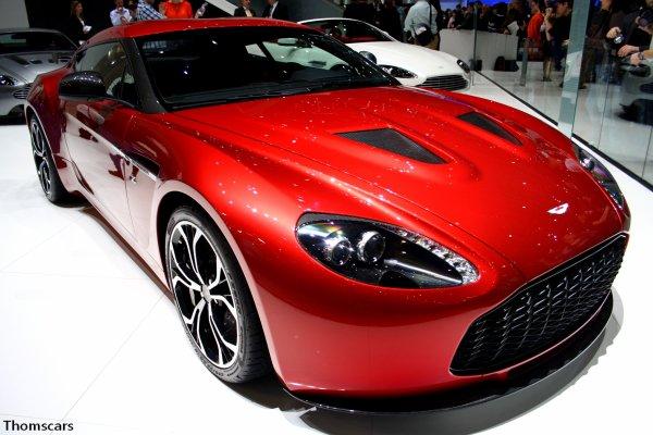 Aston Martin V12 Zagato - Salon d'automobile de Genève 2012