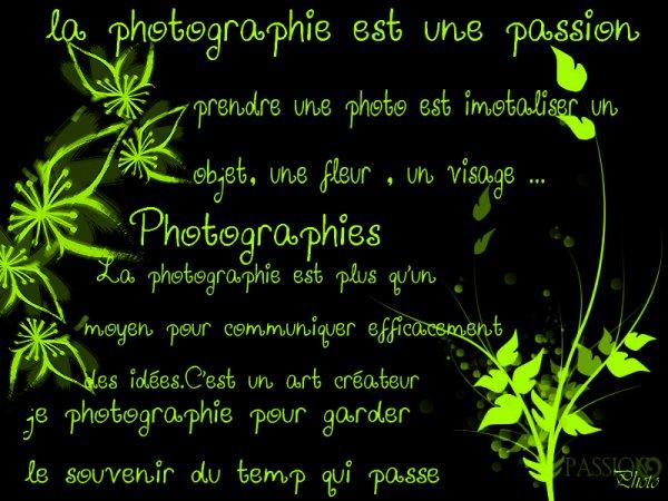La phtographies