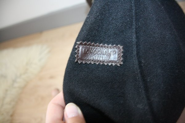 Sac LONGCHAMP cuir & feutrine