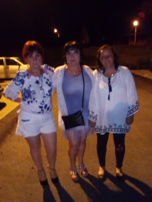 Sortie avec mes copines Martine et Brigitte juin 2018