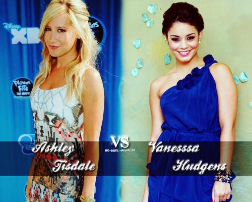 Ashley Tisalde VS Vanessa Hudgens