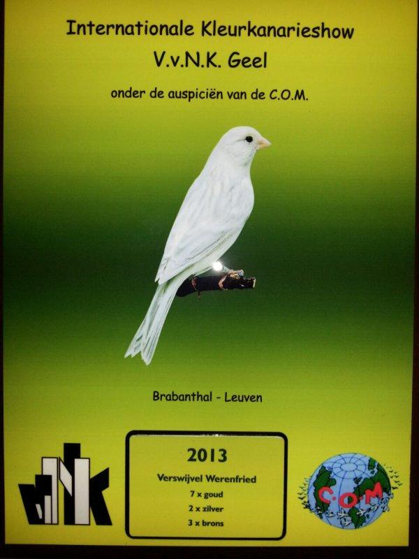 VvNK 2013 te Leuven.