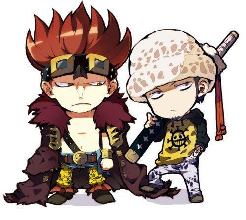 Image de Kidd , Law et Luffy