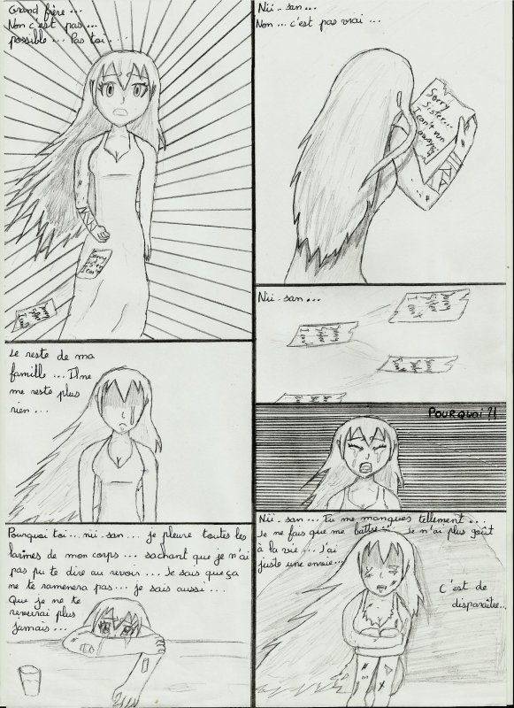 Une page que j'ai dessiné...