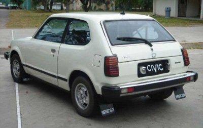 honda civic premiere génération de 1972 à 1979