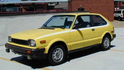 honda civic deuxieme génération de 1980 à 1983