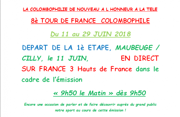 Tour de France colombophile