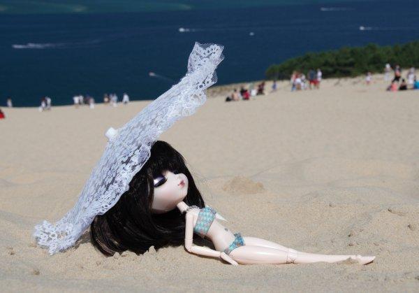 seance photo des vacances 1er partie perle a la dune du pyla