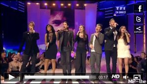 Félicitations pour l'award de l'Artiste Masculin francophone et la Chanson française de l'année !