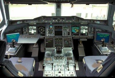 cockpit de a380