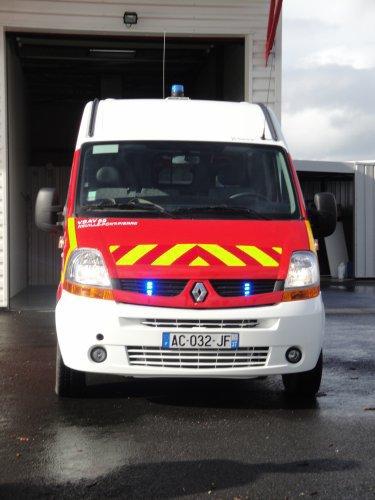 VSAV de pompier
