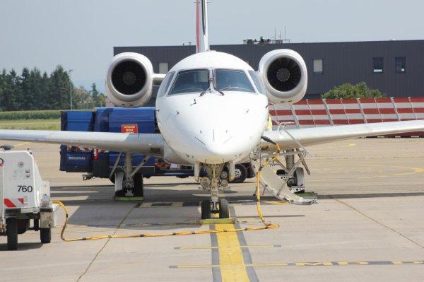 ERJ-145 d'Air-France en préparation