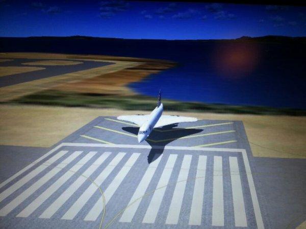 Fsx concorde prêt au decollage de nice