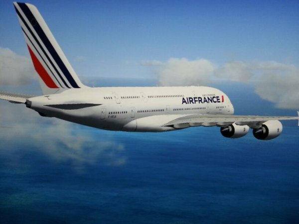 Fsx : mon vol saint martin paris