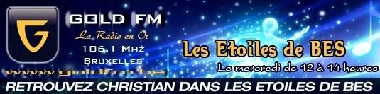 Bannière Gold FM - Etoiles de BES