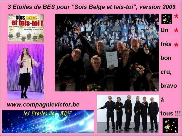"""Les Etoiles de BES pour """"SOIS BELGE ET TAIS-TOI"""" - Version 2009"""