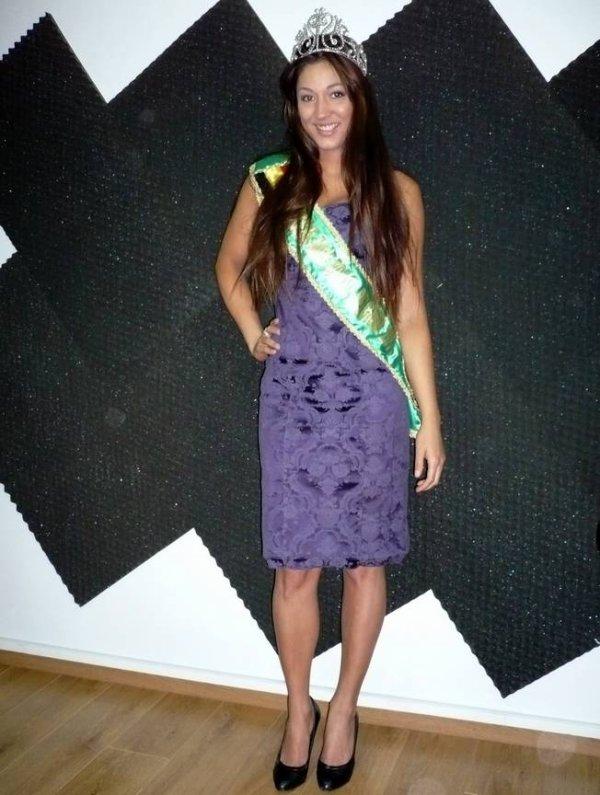 Maiara Pierlot, 2ème dauphine de Miss Brasil Belgium 2011