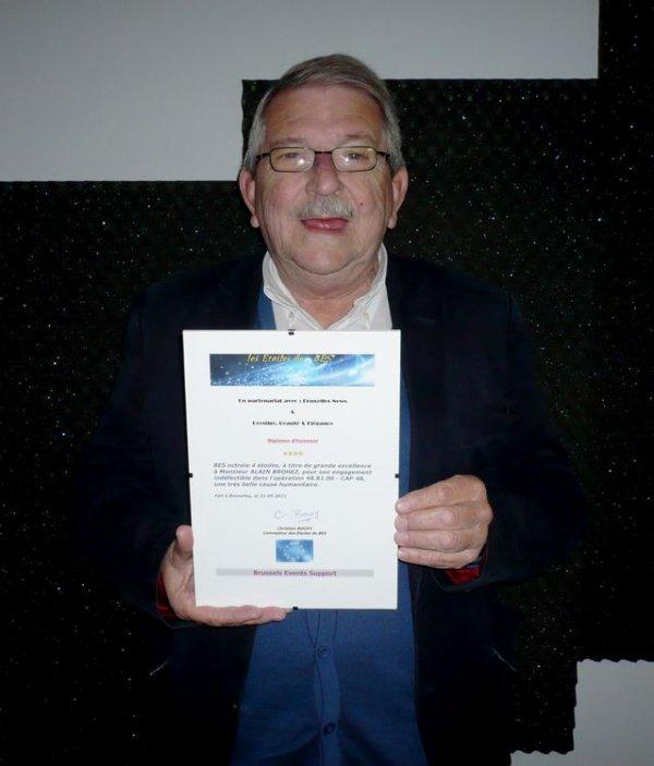 Palmarès des Etoiles de BES 2011 - Secteur humanitaire