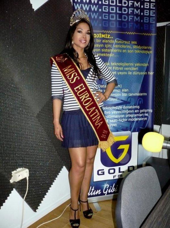 """Miss Eurolatina 2012 dans : """"Les Etoiles de BES"""" sur GOLD FM"""