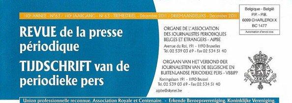 Média : ARTE BELGIQUE / MAIARA nominée pour l'Ordre Belge de la Courtoisie