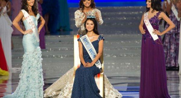 BES ACTU : Miss Monde 2012 est CHINOISE - Yu Wenxia - 23 ans