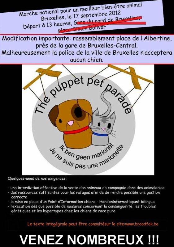 BES, GOLD FM et MAIARA, soutiennent la manifestation pour le bien-être animal !!!
