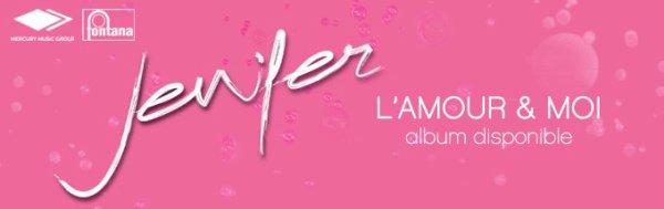 Exclusivité BES : Le nouvel album de JENIFER - L'amour & moi