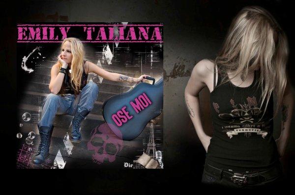 Découvrez : EMILY TALIANA  dans OSE MOI !!! (Titre POP ROCK)