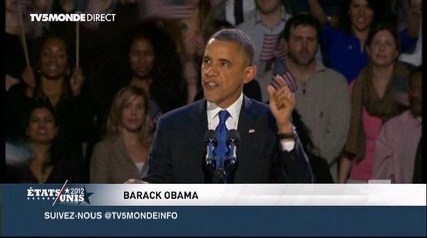 BES ACTU : Barack OBAMA réélu Président des Etats-Unis, une victoire nette !!!