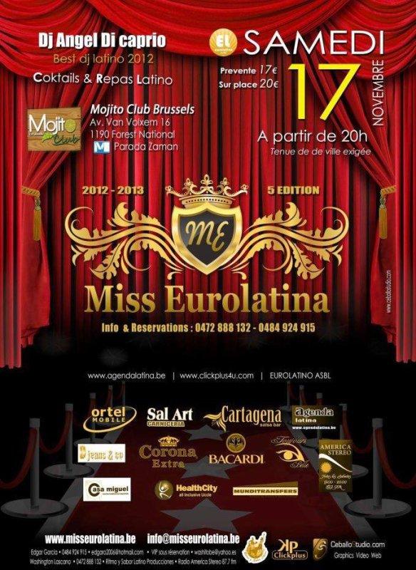 Miss Eurolatina 2013 - Coup double pour CUBA, la Roumanie aussi à l'honneur !!!