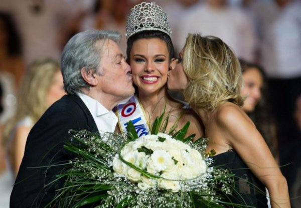 Marine Lorphelin Miss Bourgogne 2012, 19 ans, élue Miss France 2013