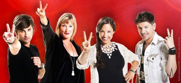 The Voice Belgique : Michaël, David, Angy et Robin en route pour la finale du 7 mai