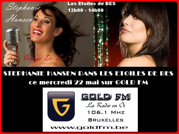"""Stéphanie Hansen à l'honneur dans : """"Les Etoiles de BES"""" - 22.05.2013"""