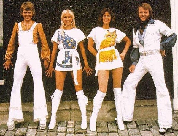ABBA, le groupe mythique des années '70