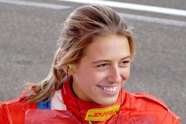 Sarah Bovy at Spa 24 Hours on Aston Martin Vantage GT3 !!!