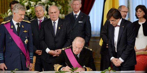 BES ACTU : Avènement du Roi PHILIPPE 1er de Belgique