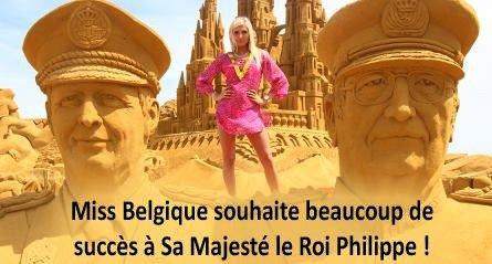 Maïté Royer 21 ans d'Uccle, est Miss Bruxelles 2014 !!!