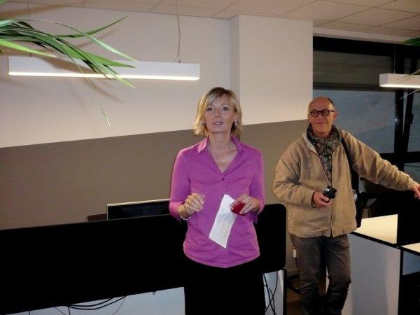 TELE BRUXELLES inaugure ses nouveaux studios !!!