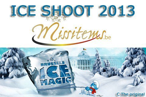 "Festival International des sculptures de glace : ""Ice Magic"" avec MISSITEMS.be"