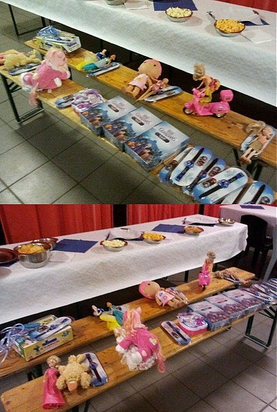 Des kilos de jouets pour les enfants défavorisés grâce à BES !!!